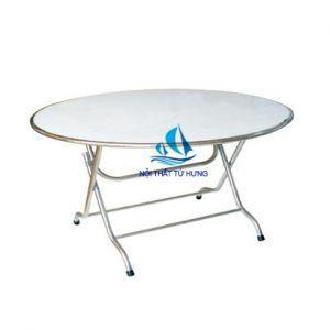 bàn tròn inox 60cm