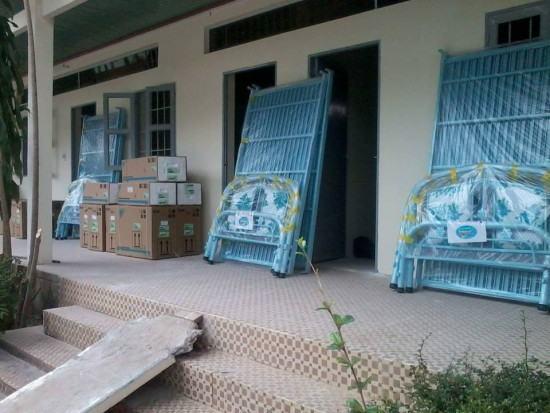 Giao giường tầng tại Công ty FICO