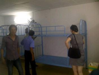 Mẫu giường tầng giao cho Công Ty Vận Tải Việt Nhật