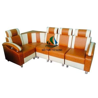 sofa goc phong khach don gian, dep