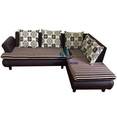 Mẫu sofa giường kết hợp tiện dụng phòng khách