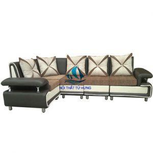Mẫu sofa góc đơn giản, hiện đại