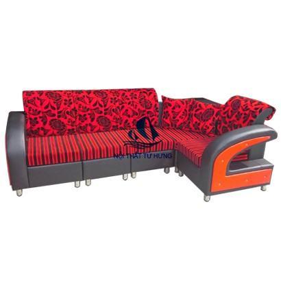 mẫu sofa góc phòng khách hiện đại, sang trọng