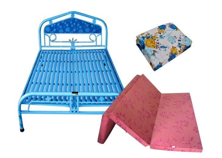 Trọn bộ giường nệm drap siêu rẻ HCM