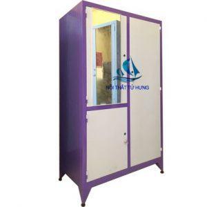 Các mẫu tủ sắt đựng quần áo đẹp, giá rẻ, tiện dụng
