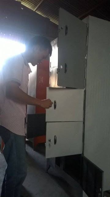 Kiểm tra tủ hồ sơ trước khi giao cho Nhà Khách Gia Nghĩa