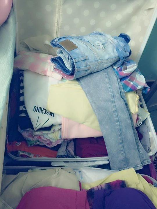 Thanh lý áo quần không dùng đến