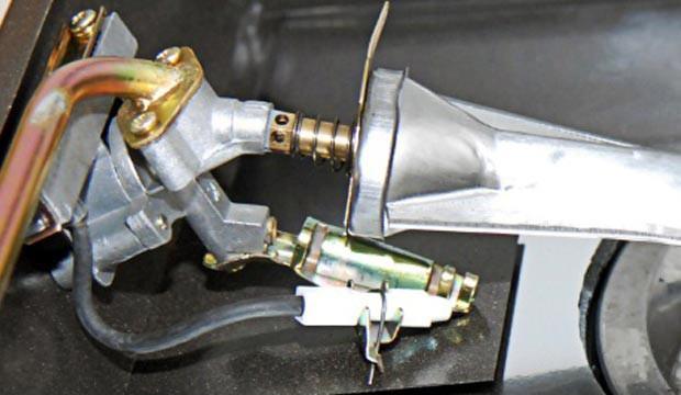 Hệ thống đánh lửa bếp gas hồng ngoại