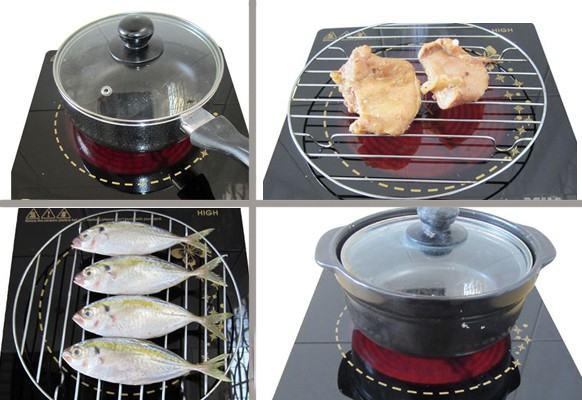 Bếp hồng ngoại Watashi không kén nồi, có thể nướng trực tiếp