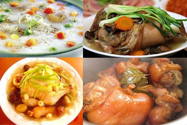 Món ăn được nấu từ nối áp suất điện