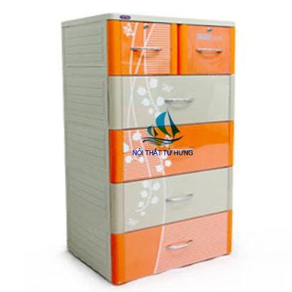 Tủ nhựa Duy Ttân Tabi M 5 tầng 6 ngăn